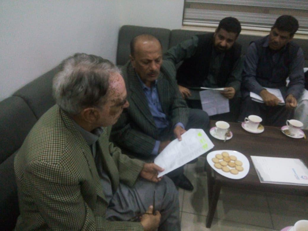 Visit Of CH Abdullah Yousaf MPA at Kidney Centre Gujrat Provincial Zakat Coordinator